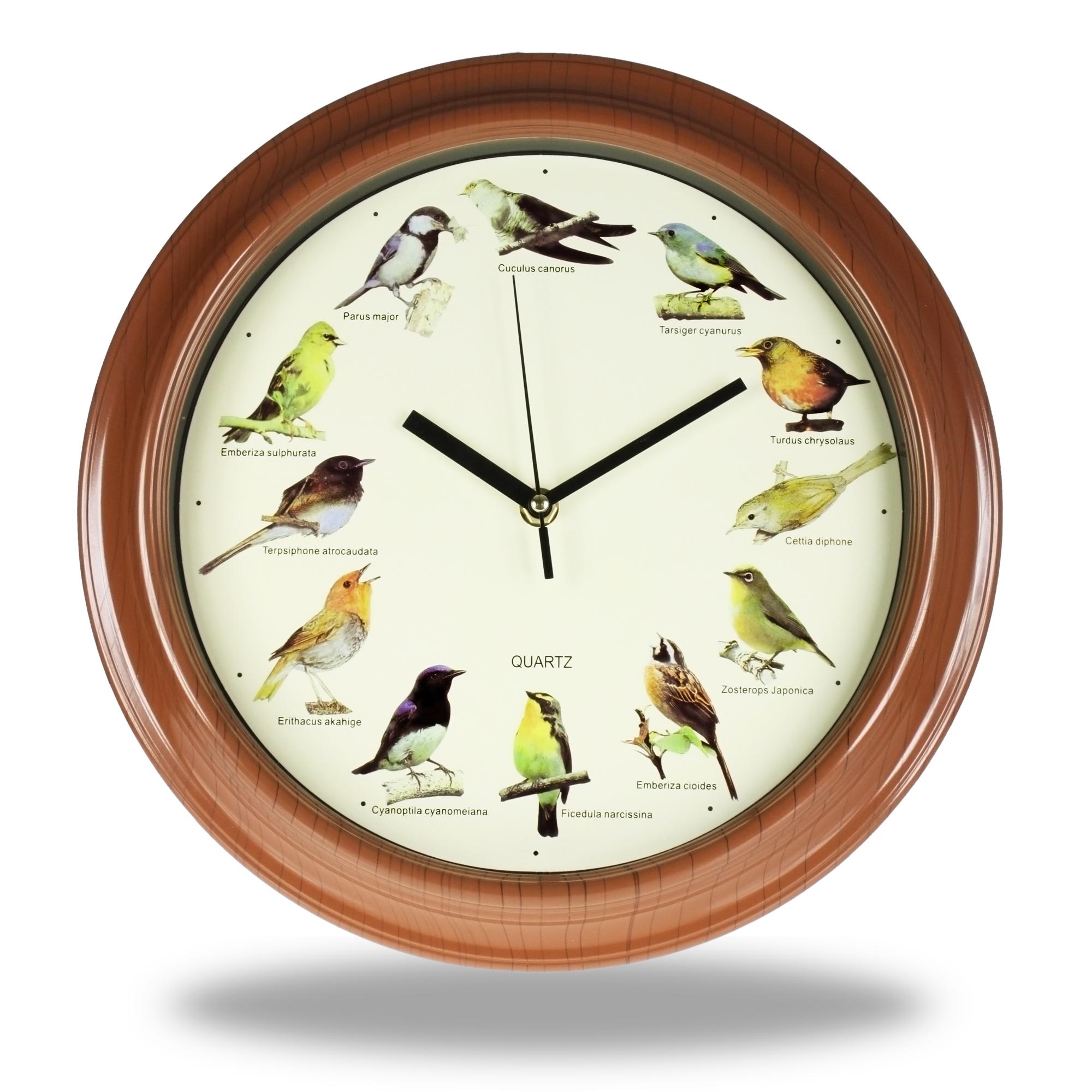 Motiv Uhr - Vogelgezwitscher