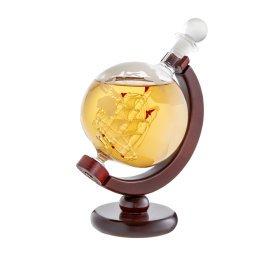 Whiskykaraffe - Globus - Glasdekanter