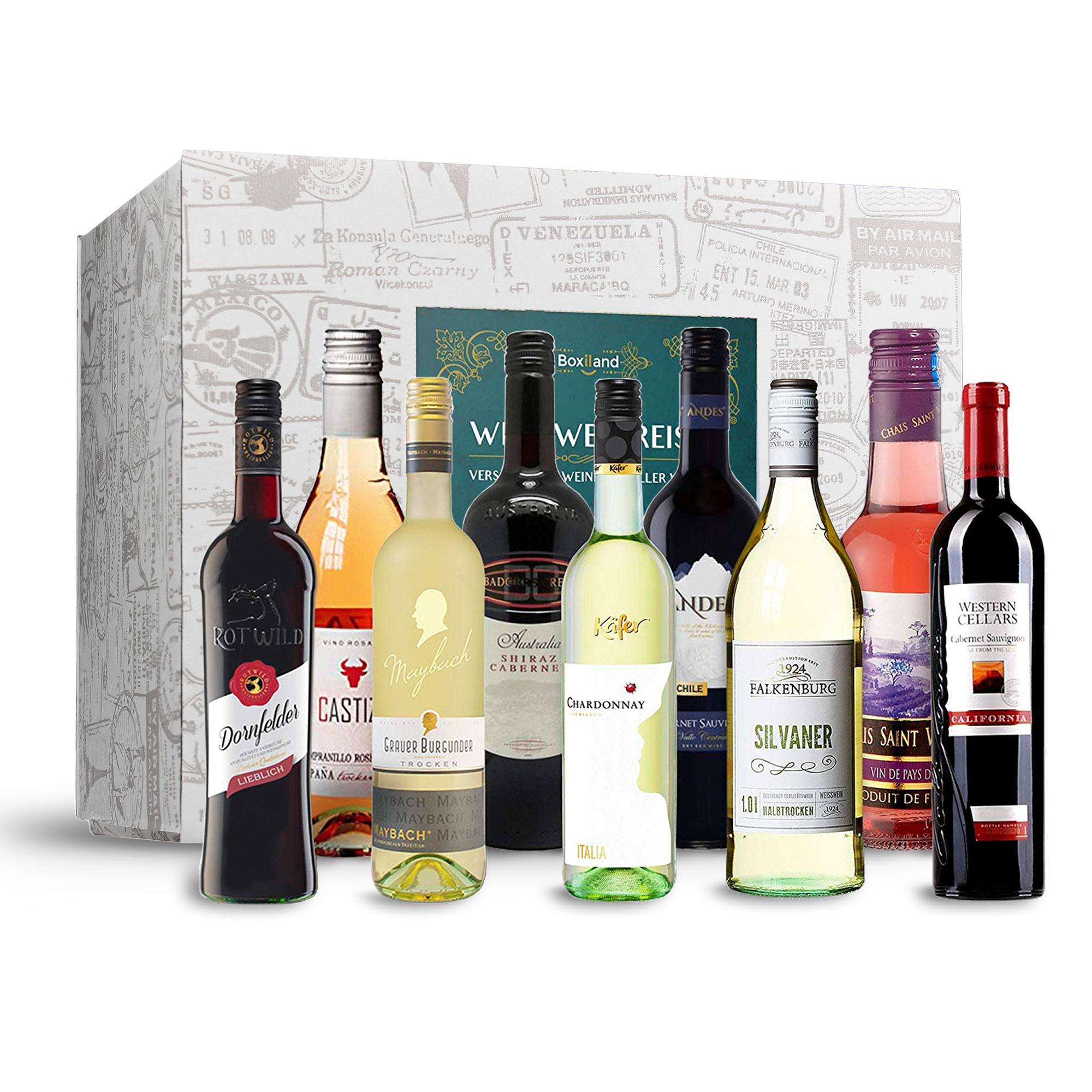 Wein Weltreise - 9er Set