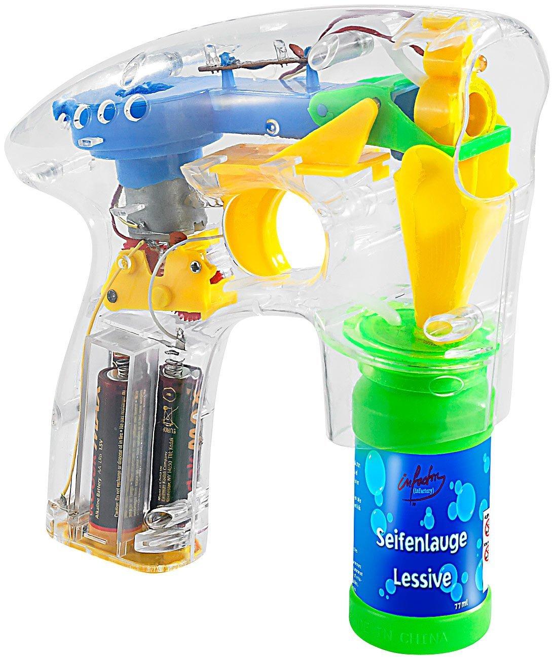 Beleuchtete Seifenblasen Pistole