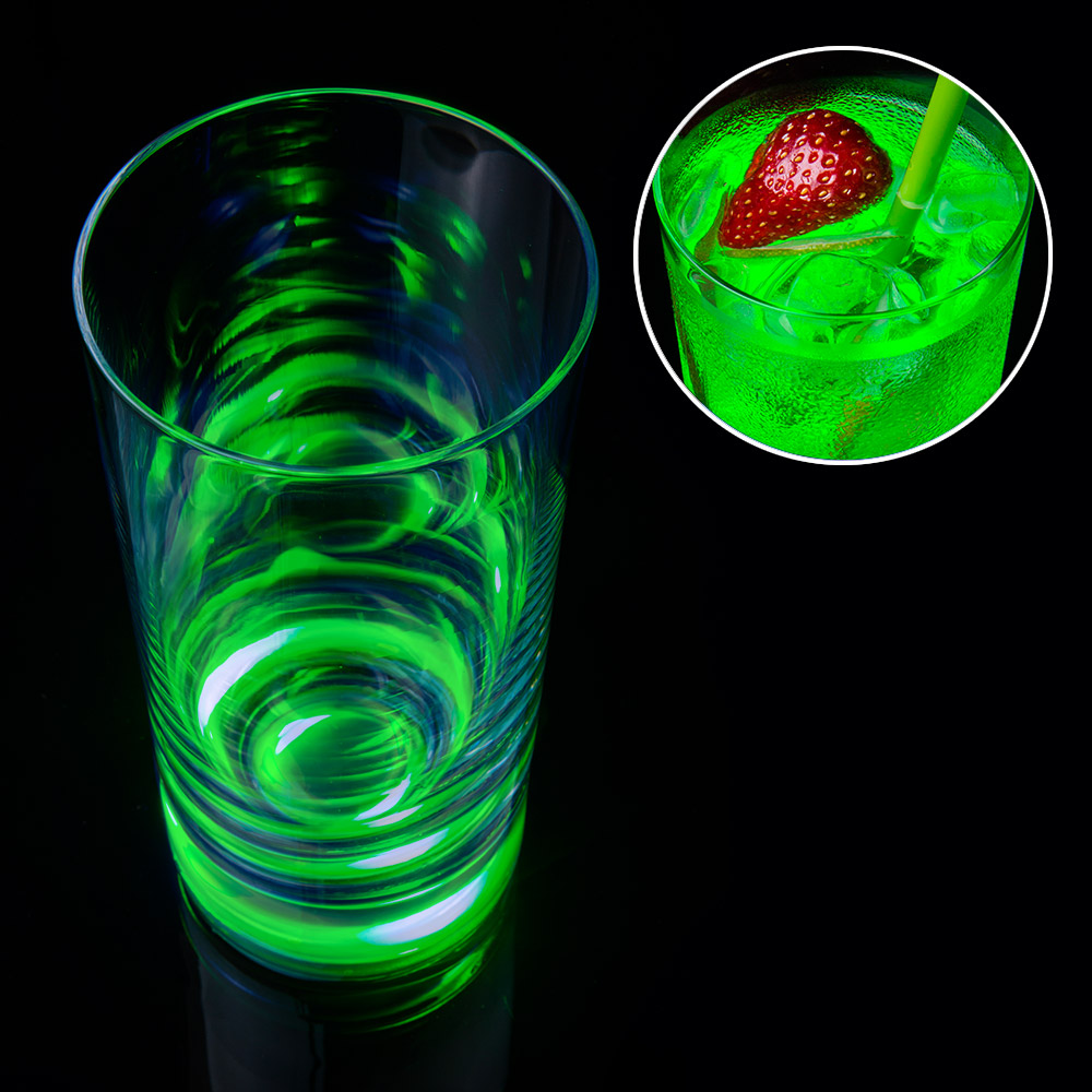 Leuchtendes Touch Glas - grün