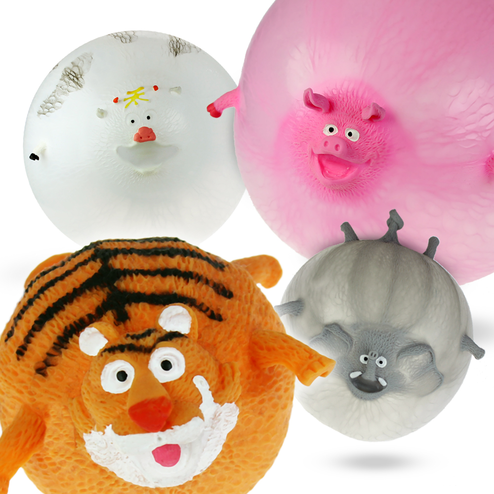 Tier-Luftballons - 4 Stück