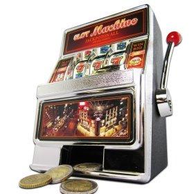 Witzige Slot Machine Spardose