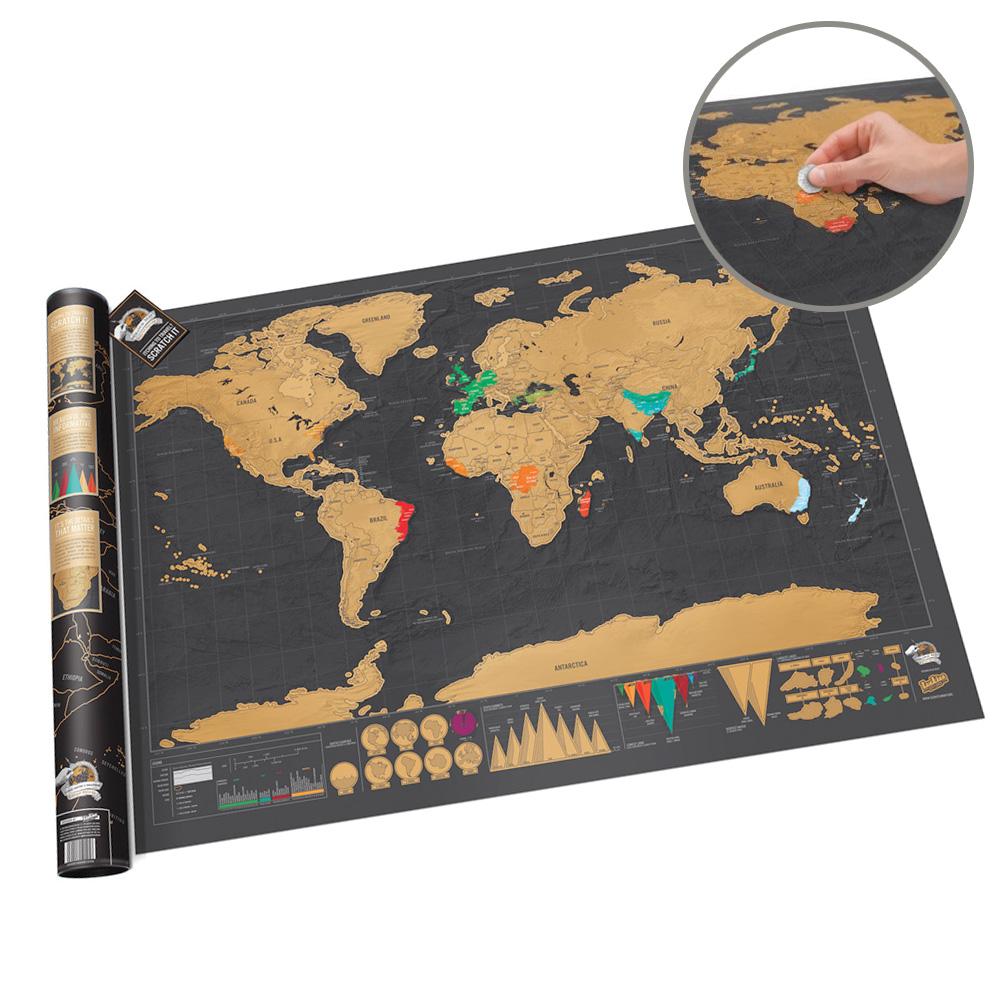 Rubbel Weltkarte Deluxe