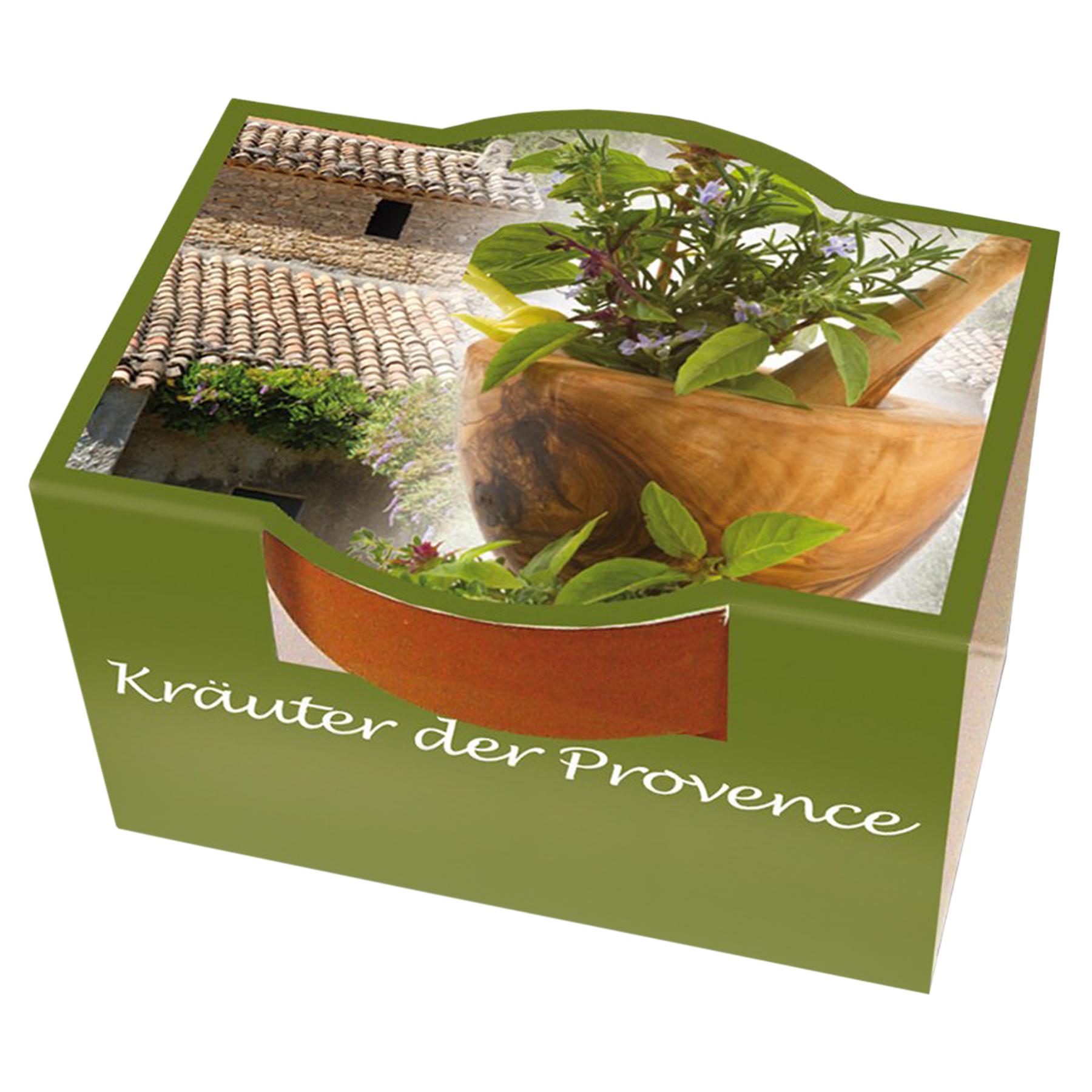 Geschenkset zum selber Pflanzen - Kräuter der Provence