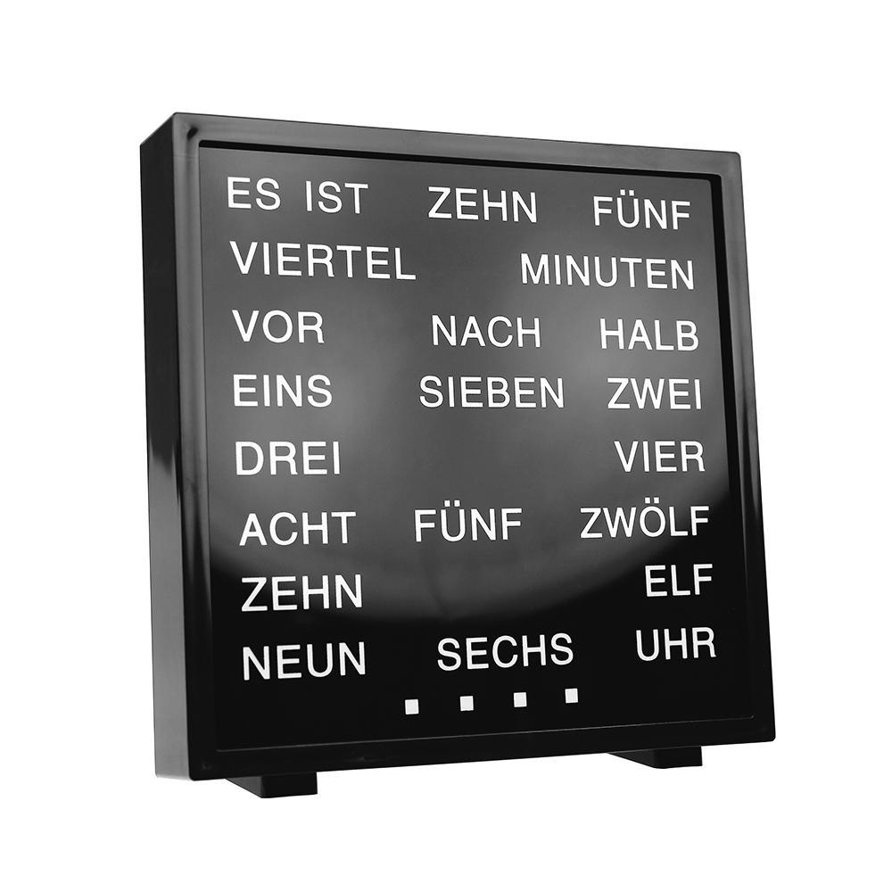 LED Uhr mit Wortanzeige
