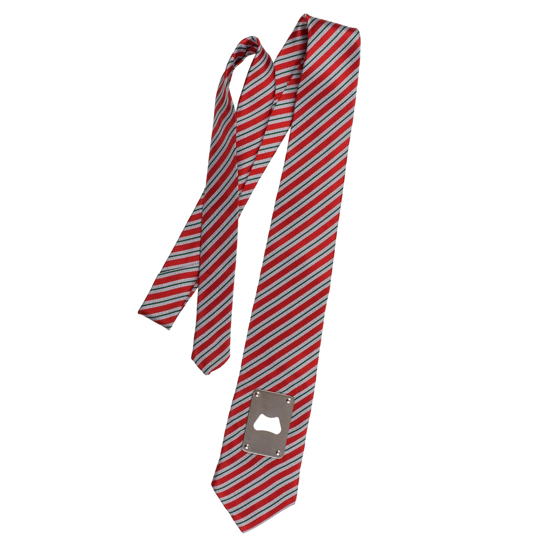 Krawatte mit Bieröffner