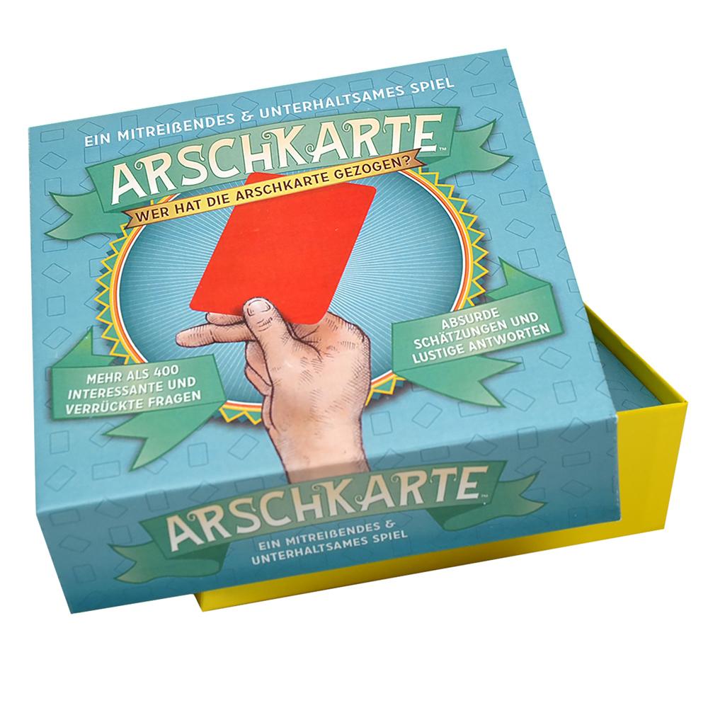 Arschkarte Spiel - Lustige Schätzfragen
