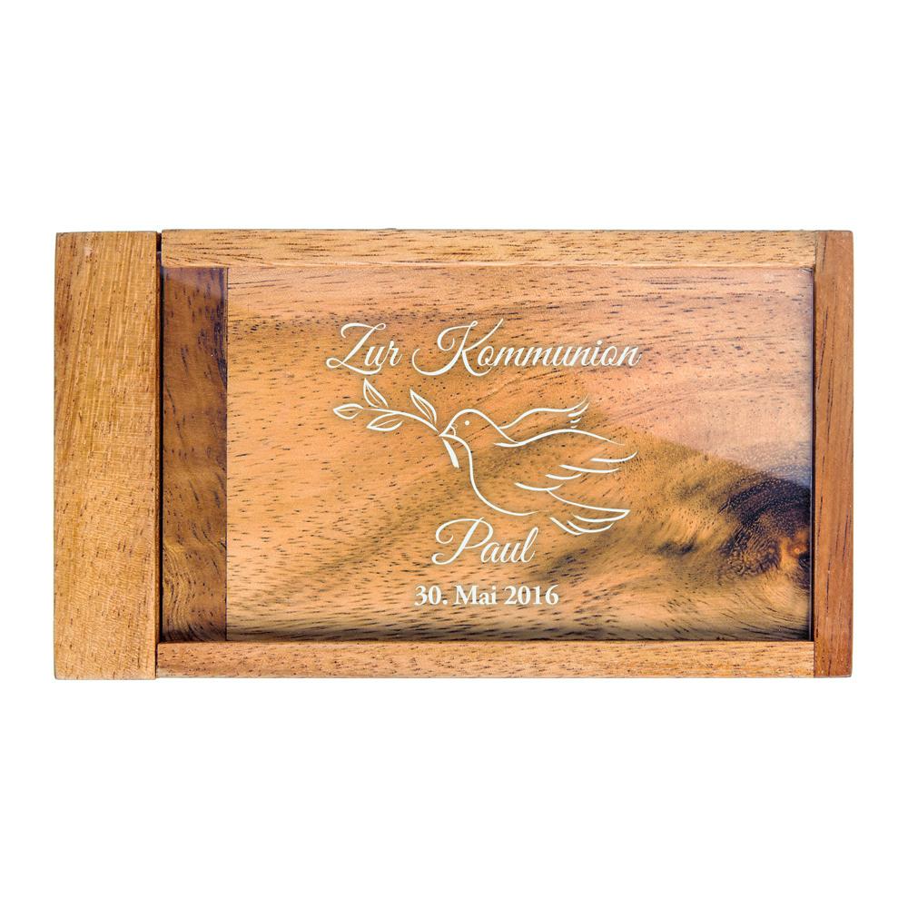 Magische Geldgeschenkbox zur Kommunion - Personalisiert