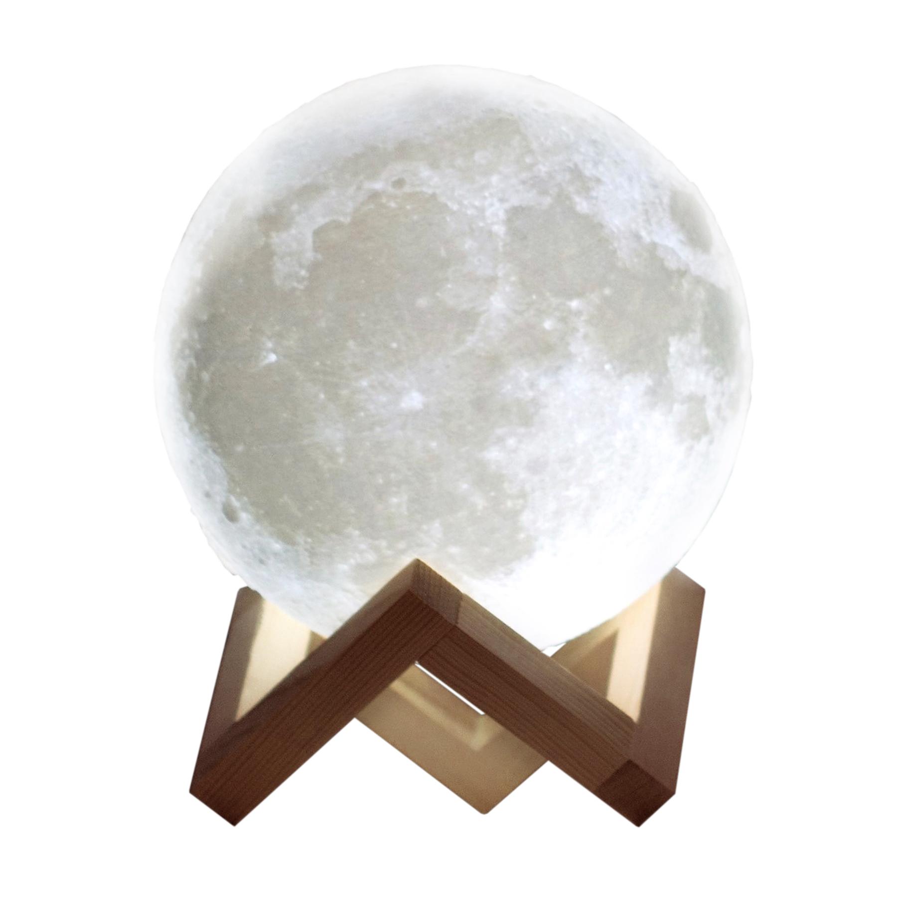 Tischlampe 3D - Mond Kugel