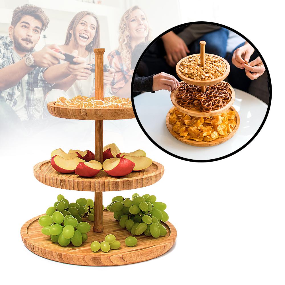 Servierplatte für Snacks - Etagere