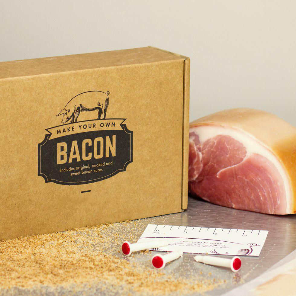Stelle Deinen eigenen Bacon her - Geschenkbox