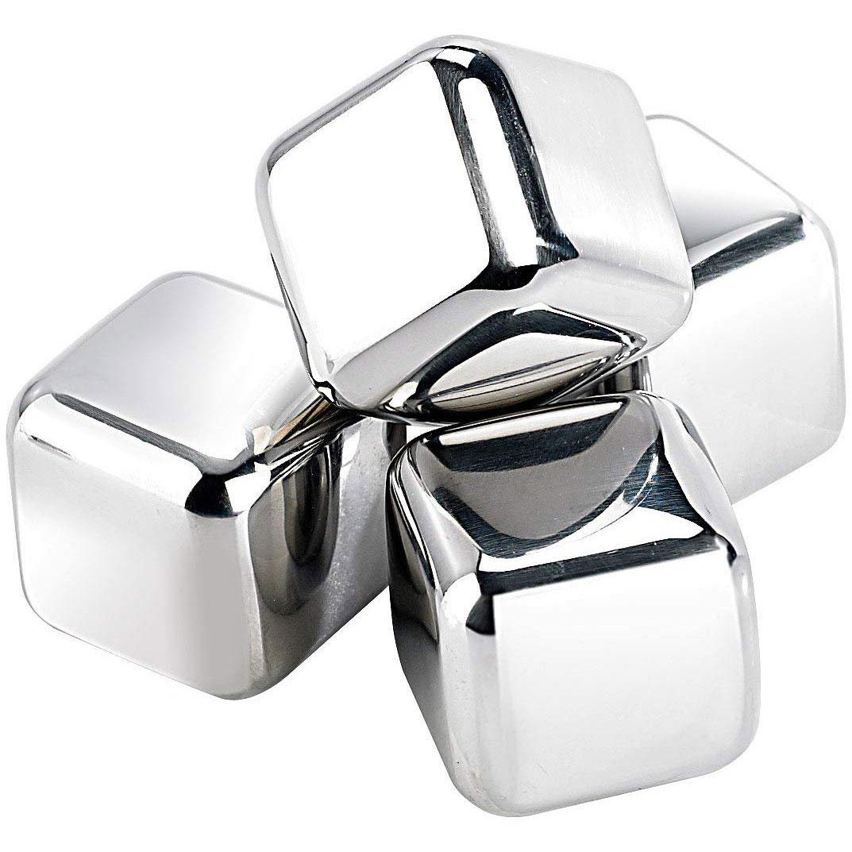 Metal Cubes - Eiswürfel aus Stahl