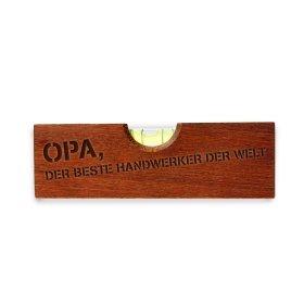 Flaschenöffner Wasserwaage - Handwerker Opa