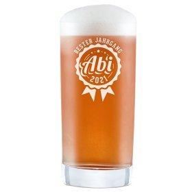 Craft Bier Glas mit Gravur - Abitur Jahrgang