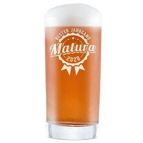 Craft Bier Glas mit Gravur - Matura Jahrgang