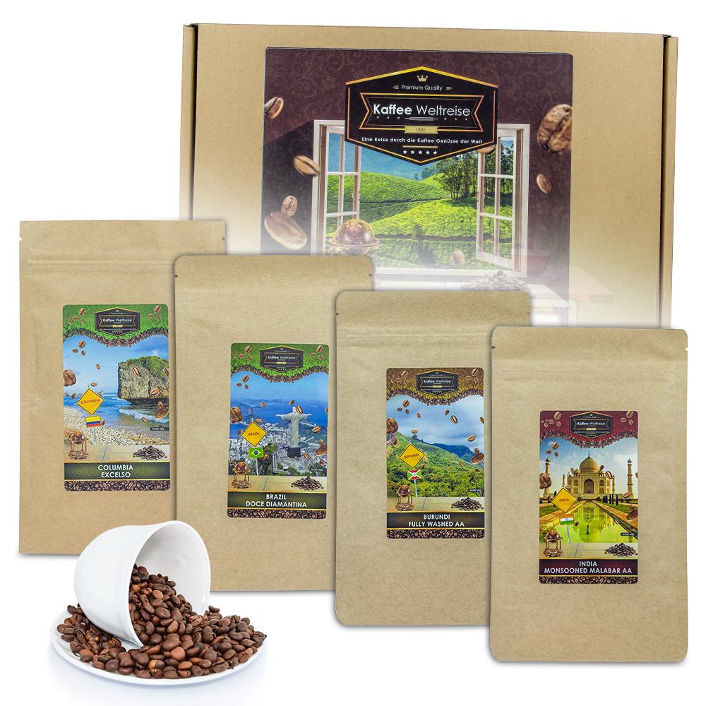 Geschenkbox Kaffeeweltreise