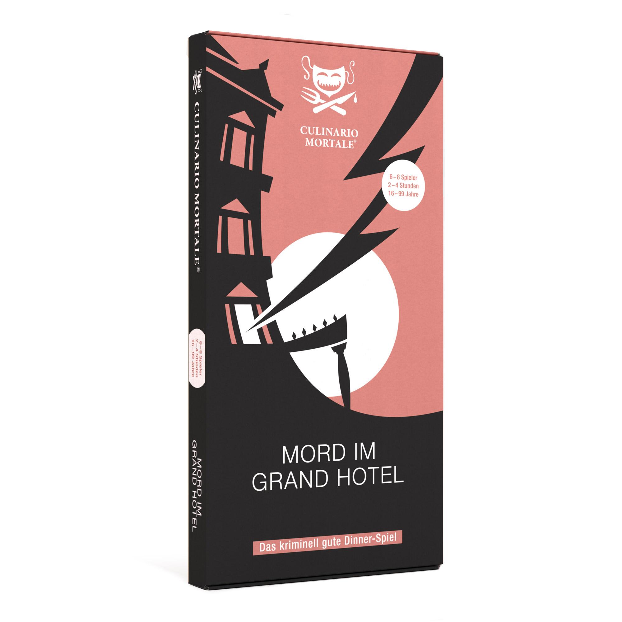 Kriminelles Dinner: Mord im Grand Hotel