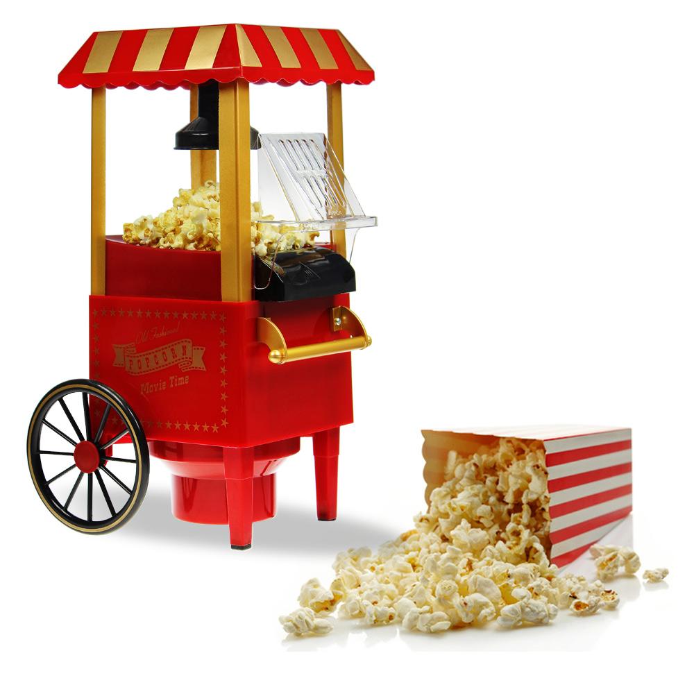 Popcornmaschine mit Rädern - Retro Design