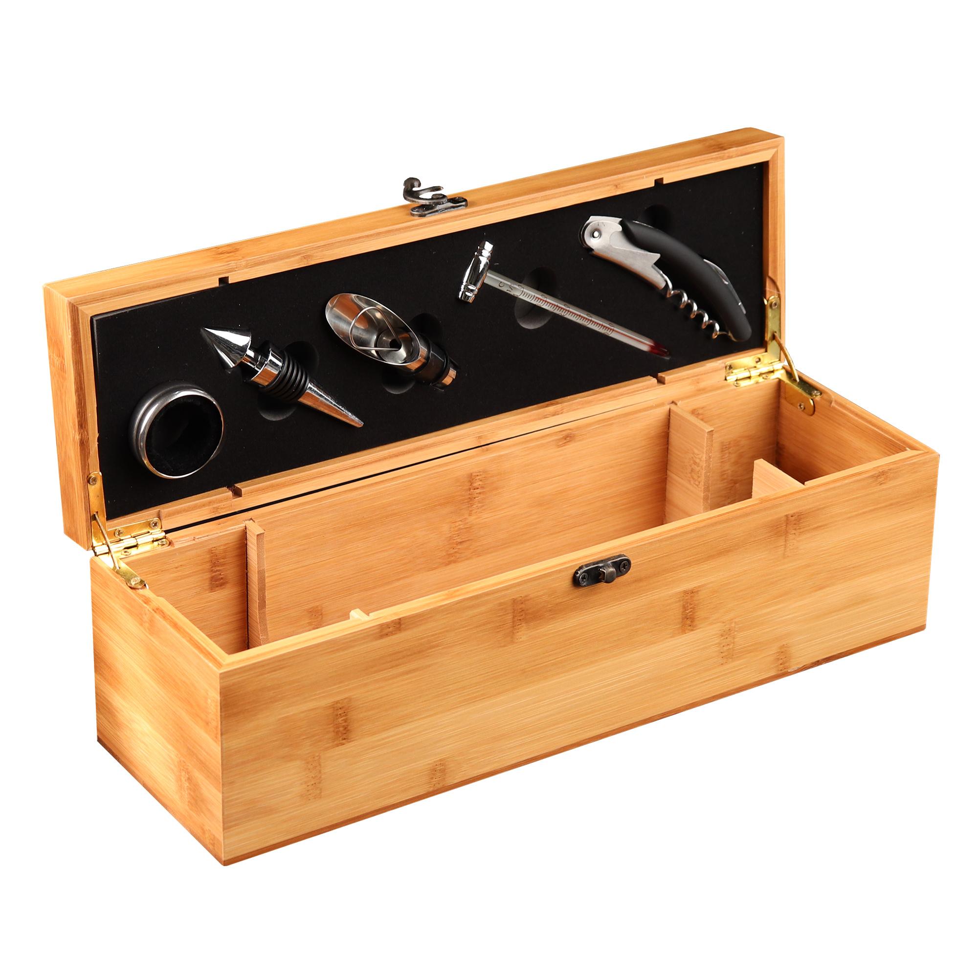 Sommelier Geschenkbox für Weinflaschen