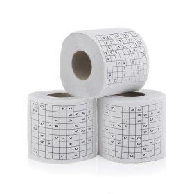 Toilettenpapier Sudoku im 3er Set