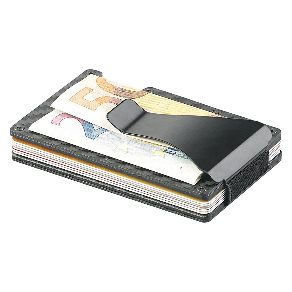 Kartenetui als Geldbörse mit Ausleseschutz