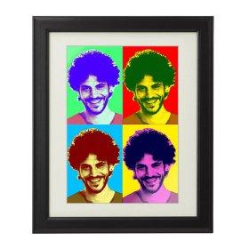 Pop Art Druck - Personalisiert mit Foto