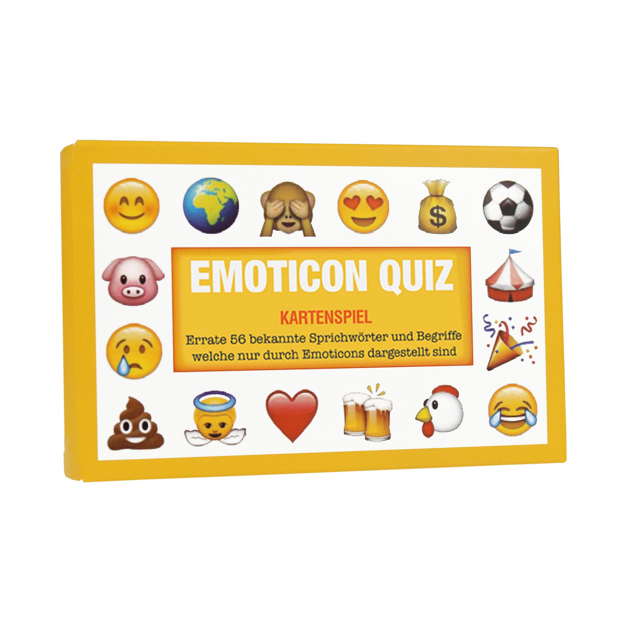 Smiley Quiz - Kartenspiel