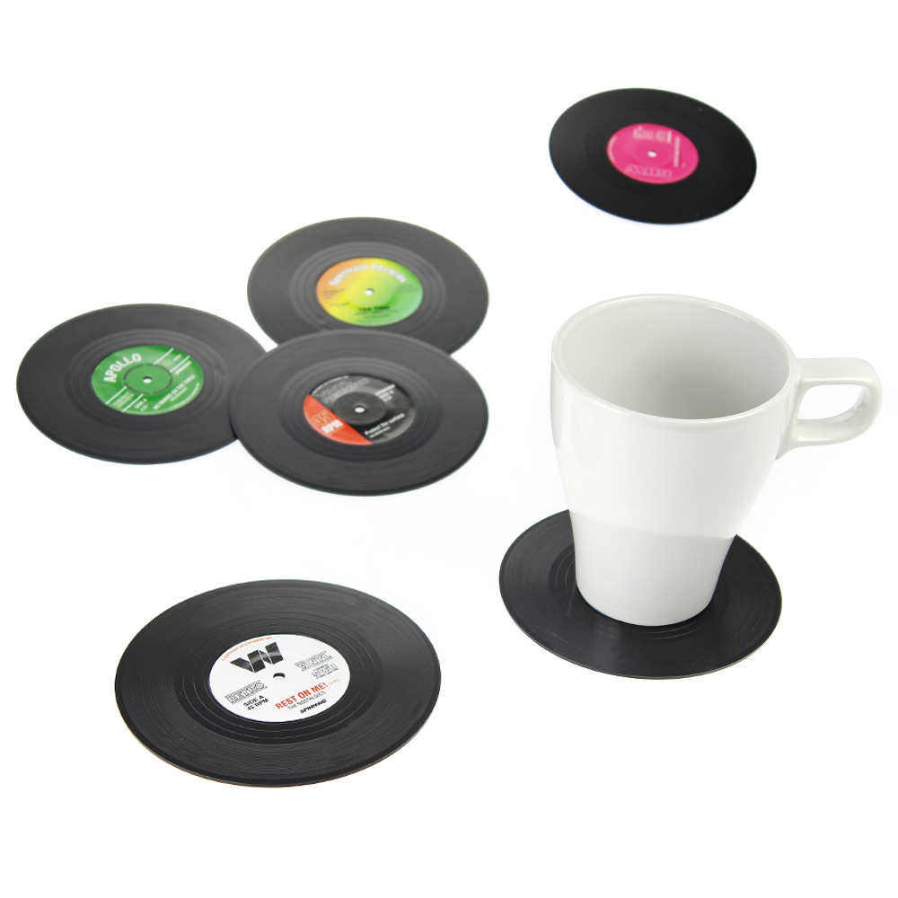 Schallplatten-Untersetzer Vinyl