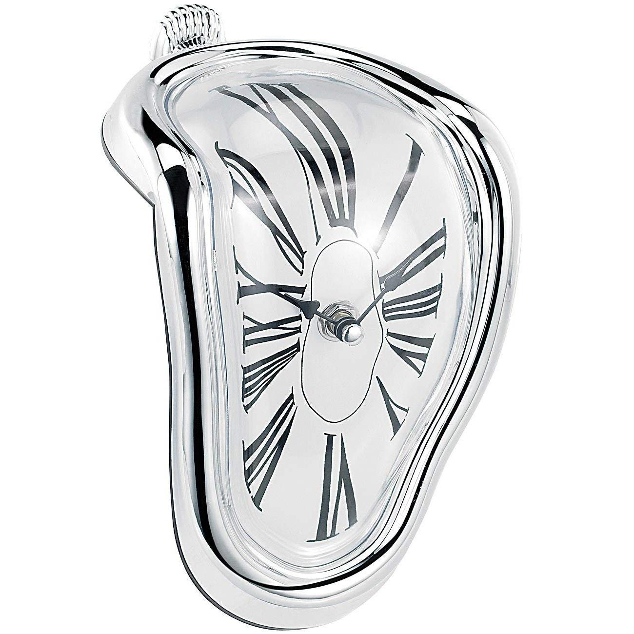 Zerfließende Uhr