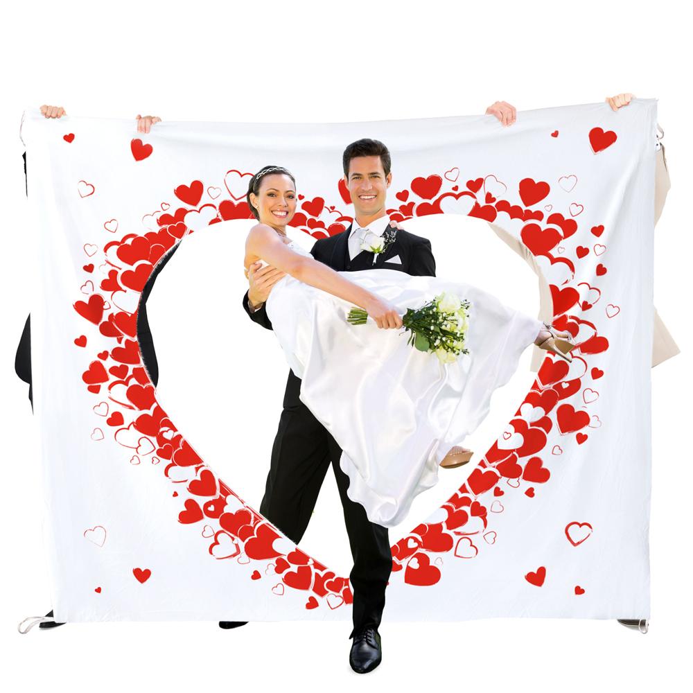 Hochzeitslaken zum Ausschneiden - Hochzeitsspiel