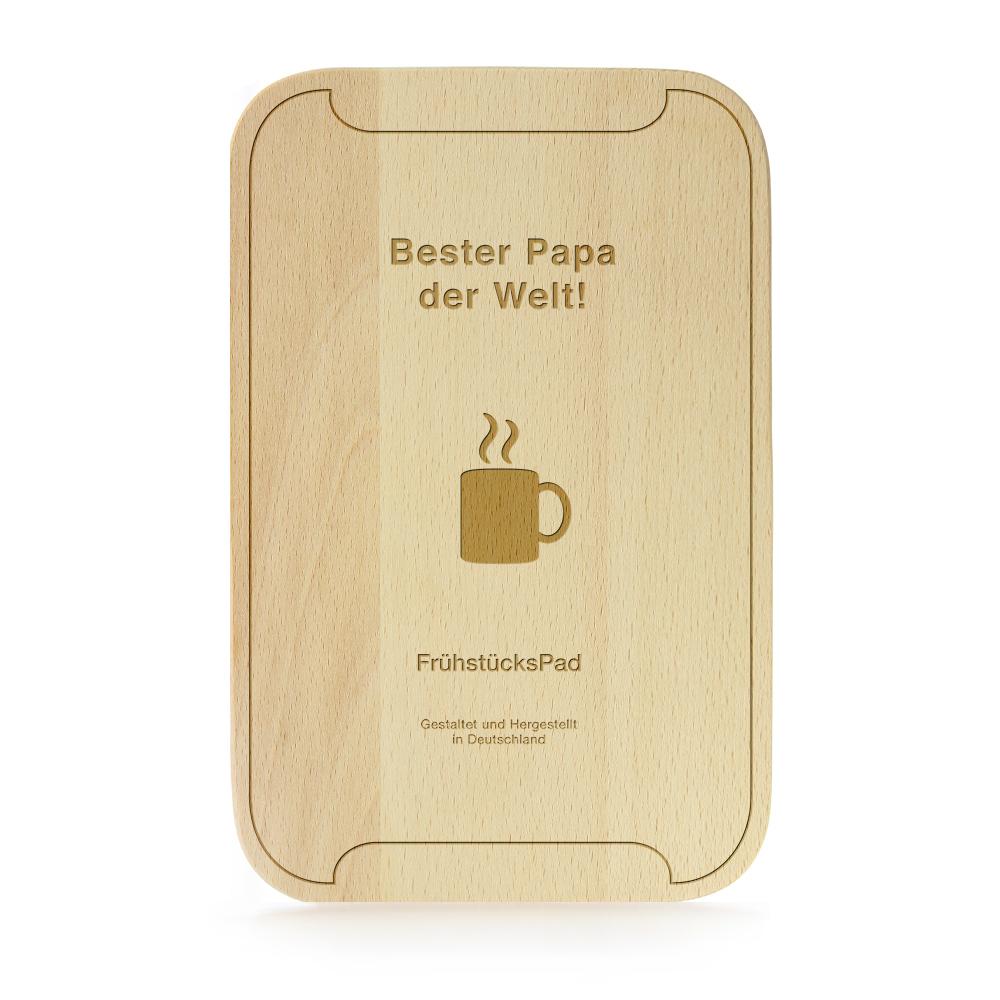 Frühstücksbrett Tablet - FrühstücksPad Bester Papa
