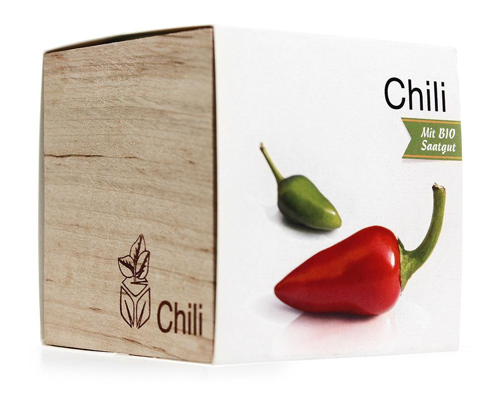 Eco Holzwürfel Chili