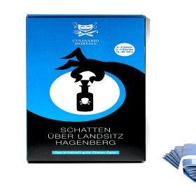 Krimidinner Spiel - Schatten über Landsitz Hagenberg